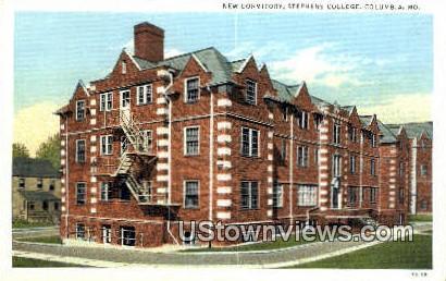 New Dorm, Stephens College - Columbia, Missouri MO Postcard