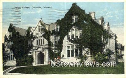 Bible College - Columbia, Missouri MO Postcard