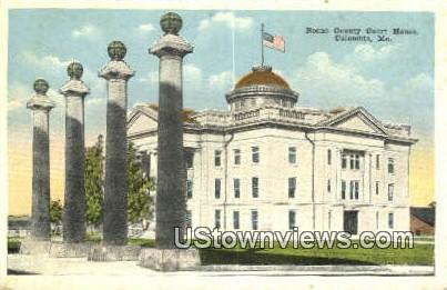 Boone County Court House - Columbia, Missouri MO Postcard