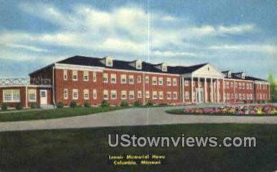 Lenori Memorial Home - Columbia, Missouri MO Postcard