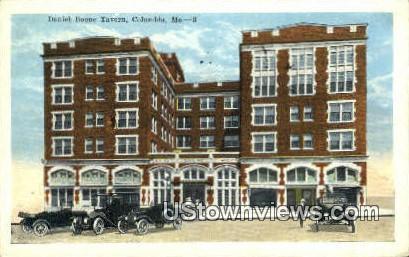 Daniel Boone Tavern - Columbia, Missouri MO Postcard