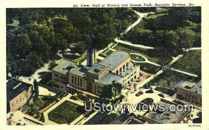 Siloam Park - Excelsior Springs, Missouri MO Postcard