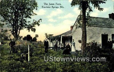 James Farm - Excelsior Springs, Missouri MO Postcard