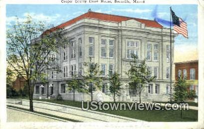 Cooper County Court House - Boonville, Missouri MO Postcard