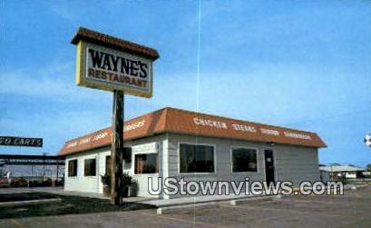 Wayne's Restaurant - Branson, Missouri MO Postcard