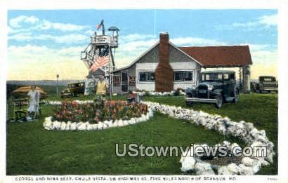 George & Nina Seay, Chula Vista - Branson, Missouri MO Postcard