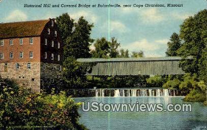 Historical Mill - Cape Girardeau, Missouri MO Postcard
