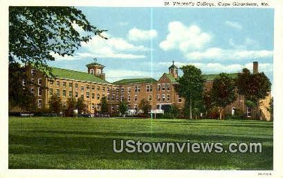 St. Vincent's College - Cape Girardeau, Missouri MO Postcard