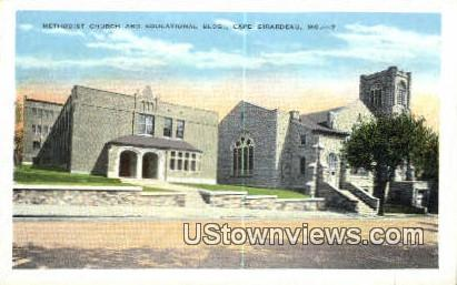 Methodist Church - Cape Girardeau, Missouri MO Postcard