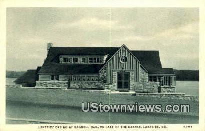 Lakeside Casino, Bagnell Dam - Missouri MO Postcard