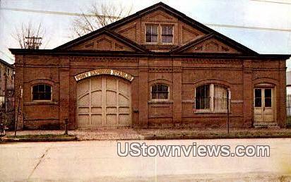 Pony Express Stables - St. Joseph, Missouri MO Postcard