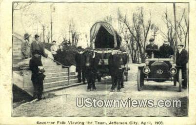 Governor Folk - Jefferson City, Missouri MO Postcard