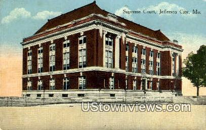 Supreme Court - Jefferson City, Missouri MO Postcard
