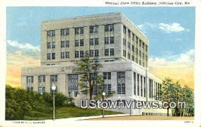 Missouri State Office Bldg - Jefferson City Postcard