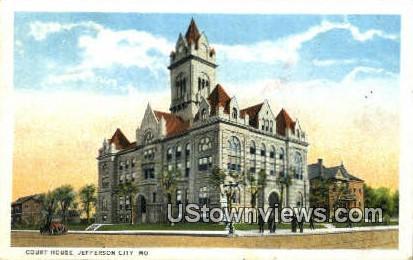 Court House - Jefferson City, Missouri MO Postcard