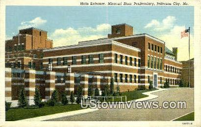 Missouri State Penitentiary - Jefferson City Postcard