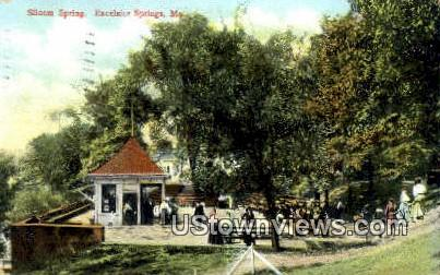 Siloam Springs - Excelsior Springs, Missouri MO Postcard