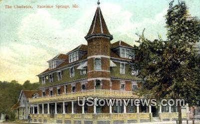 The Chadwick - Excelsior Springs, Missouri MO Postcard