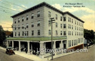 Snapps Hotel - Excelsior Springs, Missouri MO Postcard