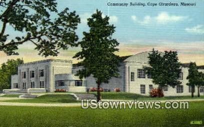 Community Bldg - Cape Girardeau, Missouri MO Postcard