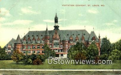 Visitation Convent - St. Louis, Missouri MO Postcard