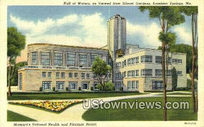 Missouri's National Health Resort - Excelsior Springs Postcard