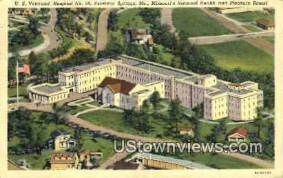 US Veterans' Hospital - Excelsior Springs, Missouri MO Postcard
