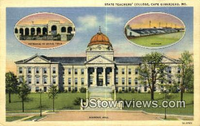 State Teachers' College - Cape Girardeau, Missouri MO Postcard