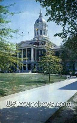 Jesse Hall, University of Missouri - Columbia Postcard