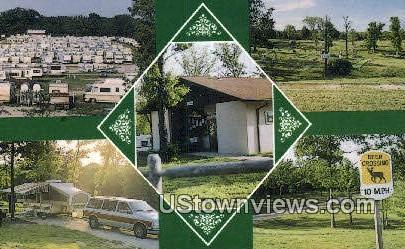 Treasure Lake RV Resort - Branson, Missouri MO Postcard
