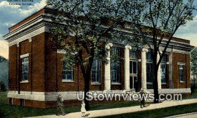 Post Office - Excelsior Springs, Missouri MO Postcard