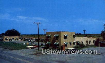 Travelier Motel - Columbia, Missouri MO Postcard