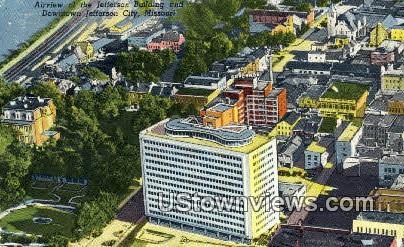 Jefferson Bldg - Jefferson City, Missouri MO Postcard
