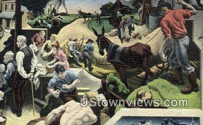 Kansas Farm - Jefferson City, Missouri MO Postcard