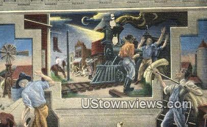 Jesse James - Jefferson City, Missouri MO Postcard