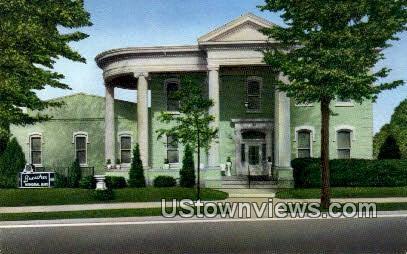 Buescher Memorial Home - Jefferson City, Missouri MO Postcard