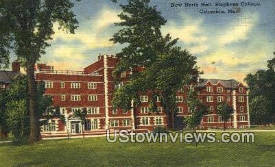 New North Hall, Stephens College - Columbia, Missouri MO Postcard