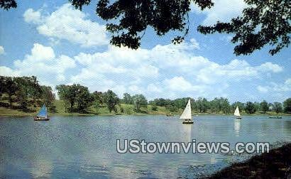 The Lake, Stephens College - Columbia, Missouri MO Postcard
