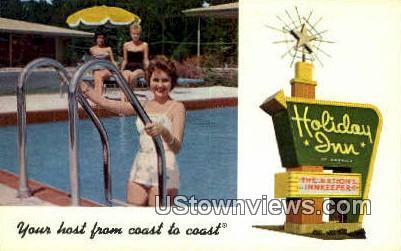 Holiday Inn - Poplar Bluff, Missouri MO Postcard