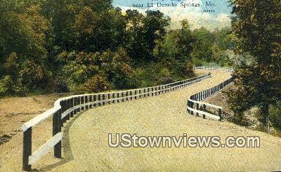 A.P Highway - El Dorado Springs, Missouri MO Postcard