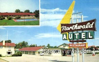Northwold Autel & Restaurant - Poplar Bluff, Missouri MO Postcard