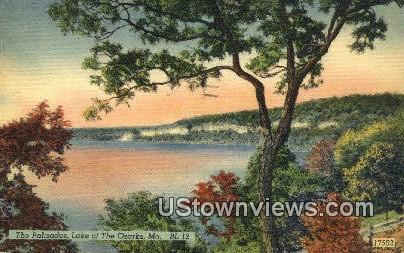 The Palisades - Lake of the Ozarks, Missouri MO Postcard