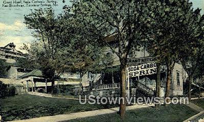 Grant Hotel - Excelsior Springs, Missouri MO Postcard