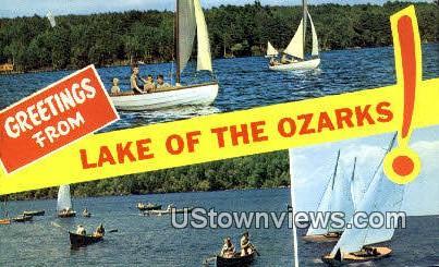 Lake of the Ozarks, Missouri, Lake of the Ozarks, MO Postcard