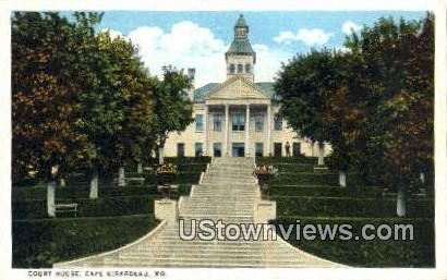 Court House - Cape Girardeau, Missouri MO Postcard