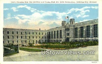 New Cell Bldg & Dining Hall - Jefferson City, Missouri MO Postcard