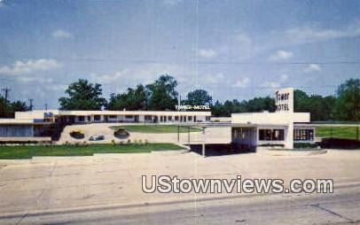 Tower Motel - Poplar Bluff, Missouri MO Postcard