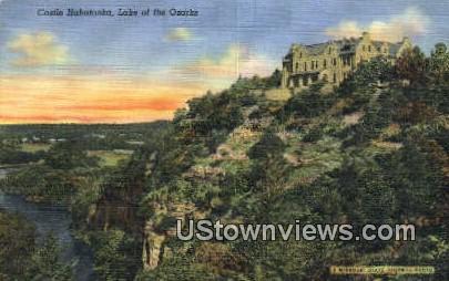 Castle Hahtonka - Lake of the Ozarks, Missouri MO Postcard