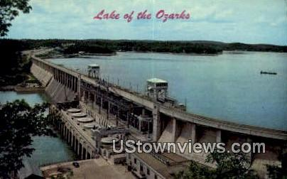 Lake of the Ozarks, MO, Lake of the Ozarks, Missouri Postcard