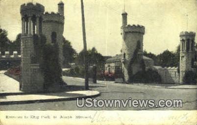 Klug Park - St. Joseph, Missouri MO Postcard